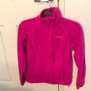 Pink Columbia Zip Up Fleece